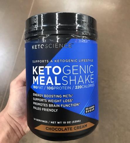 Is Ketogenic Meal Shake Keto Shake Keto Science Ketogenic Meal Shake Chocolate